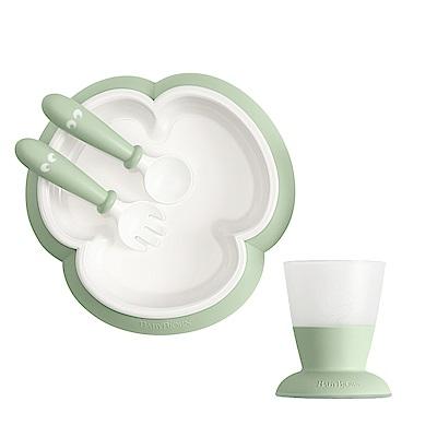 奇哥 BABYBJORN 餐盤杯子禮盒-綠