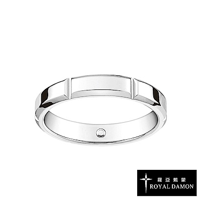 Royal Damon羅亞戴蒙 戒指 真鑽系列 念念(小)RZ494