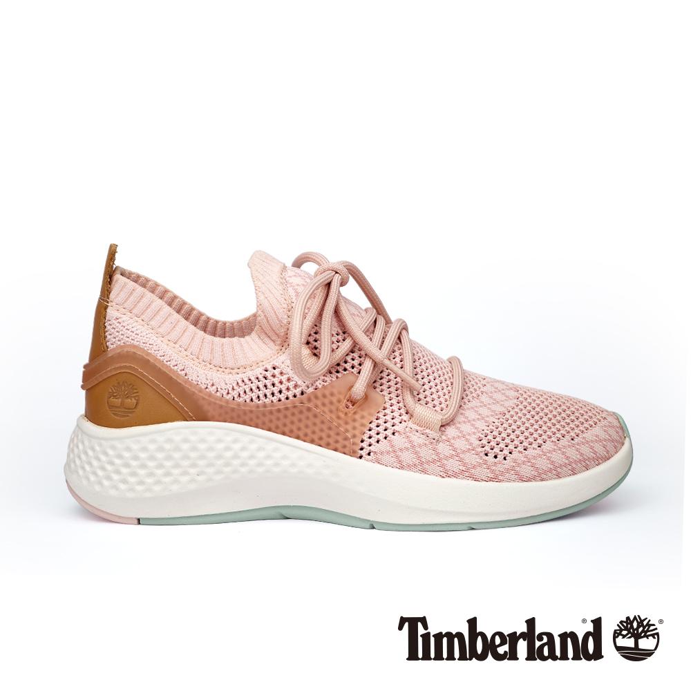 Timberland 女款淡粉色Flyroam™ 針織布面飛型鞋|A1TPA @ Y!購物