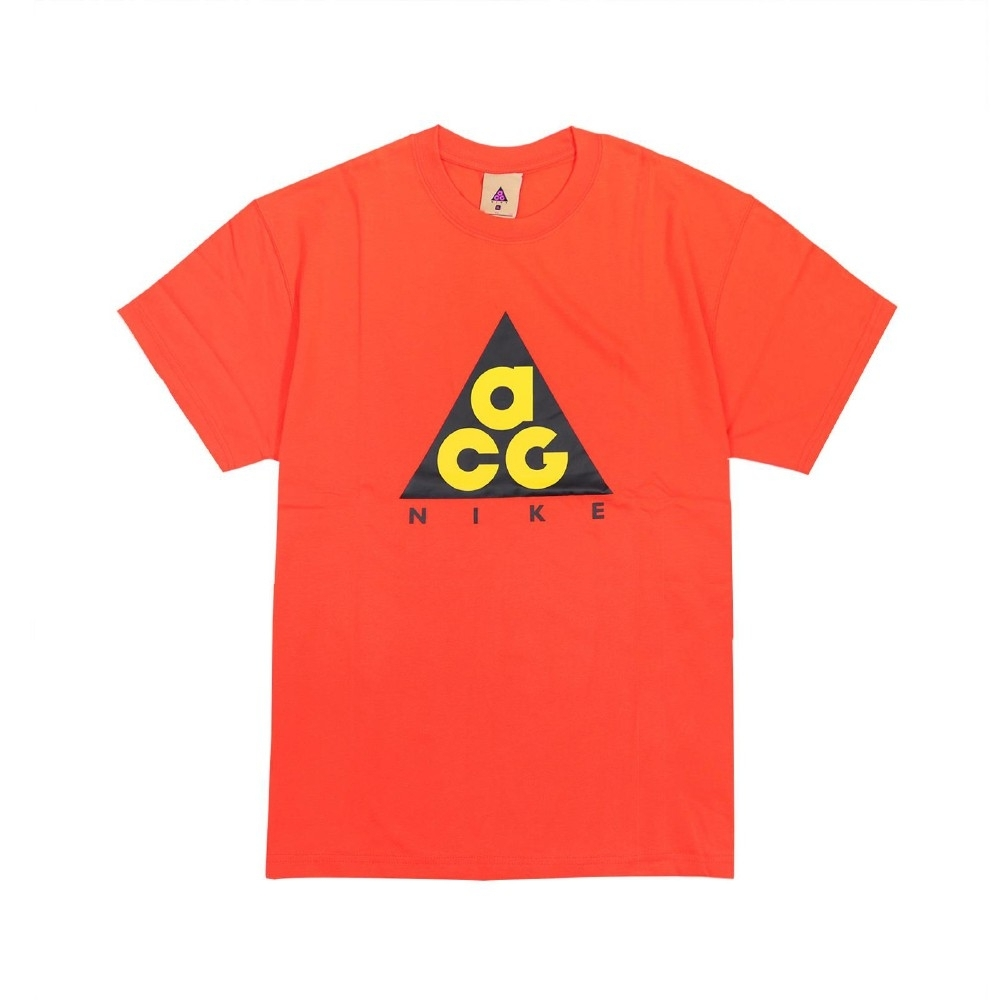 Nike T恤 ACG Graphic T-Shirt 男款 運動休閒 圓領 棉質 基本款 百搭 橘 黃 黑 CV1533634