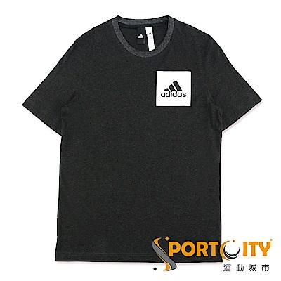 ADIDAS 男 短袖上衣-BS4861-黑
