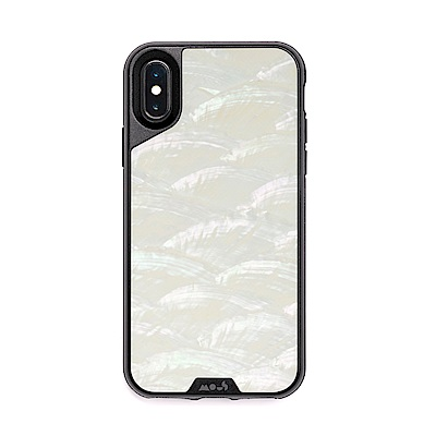 Mous iPhone Xs Max 6.5吋Limitless 2.0防摔保護殼-貝殼