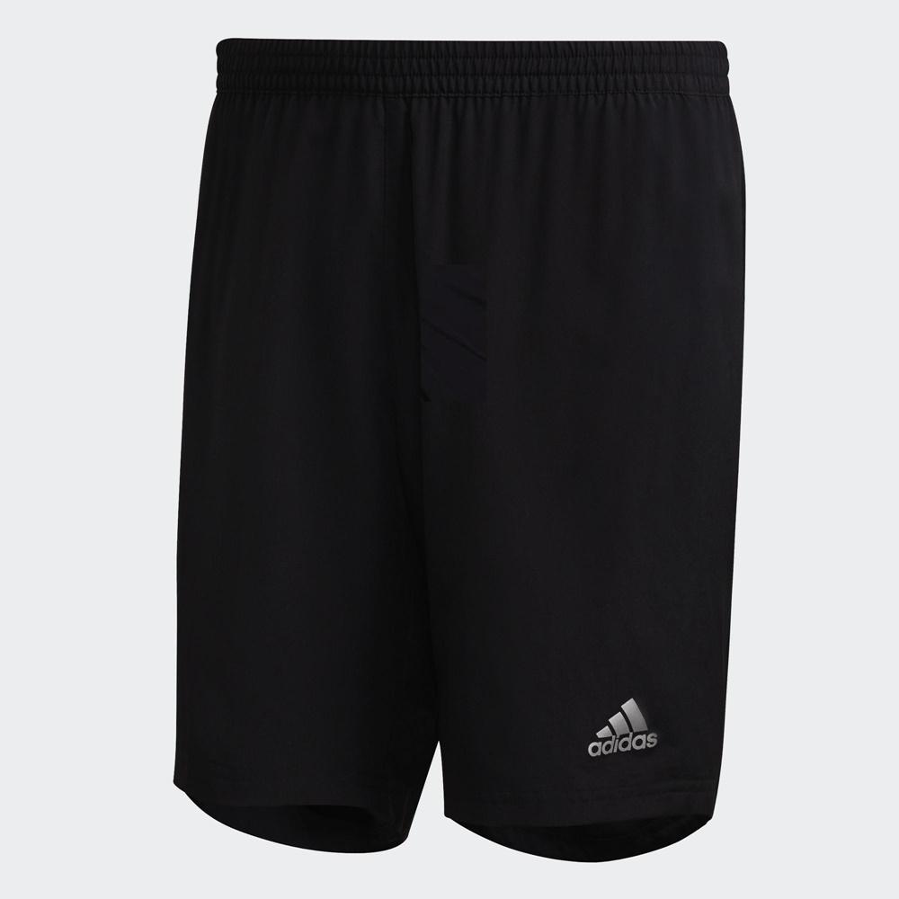 ADIDAS  RUN IT SHORT 男運動短褲-黑-FS9808