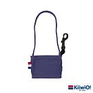 Kiiwi O! 輕便隨行系列可折疊環保帆布飲料袋 藍