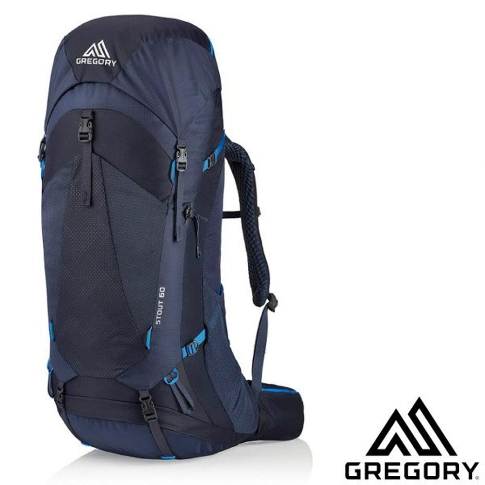 GREGORY STOUT 60 專業健行登山背包_幻影藍