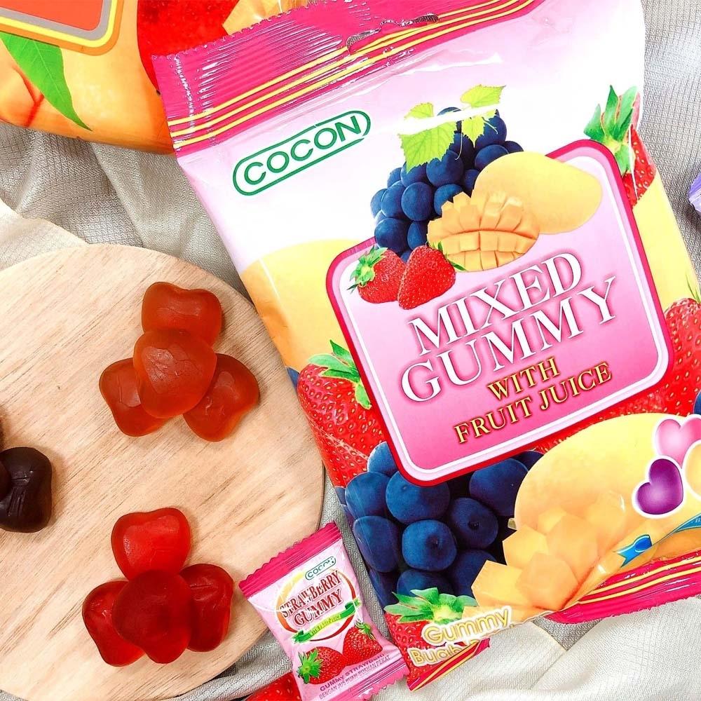 COCON可康綜合QQ水果軟糖 100g