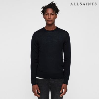 ALLSAINTS MODE 品牌經典公羊頭骨羊毛針織上衣