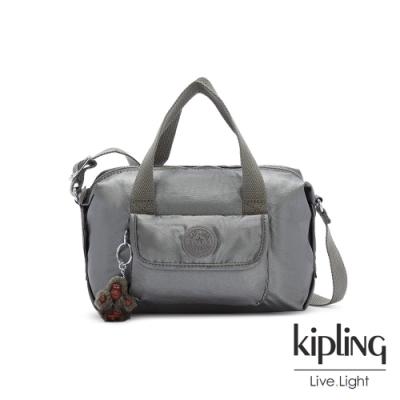 Kipling 寧靜月光灰波士頓手提兩用包-BRYNNE