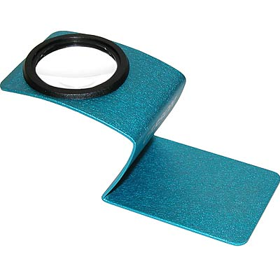 CARSON Wave 珠寶放大鏡(藍)