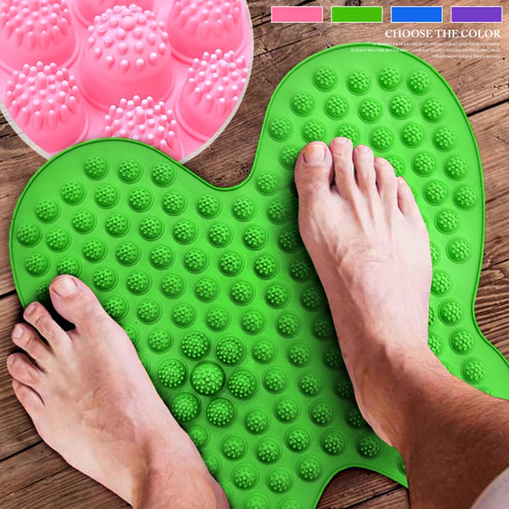 蝴蝶造型足底趾壓板 腳底按摩器 指壓板