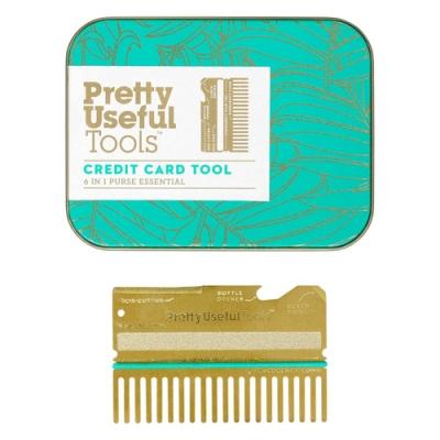 【Pretty Useful Tools】薄型6合1卡片式多用途工具組