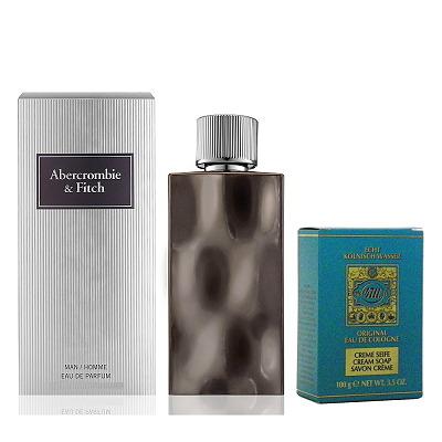 Abercrombie & Fitch 極致魅力男性淡香精100ml 搭贈 4711 香皂