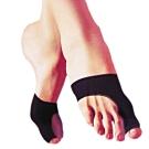 Aqnui 拇指外側腳掌型保護套4個(黑色)