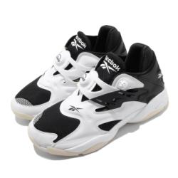 Reebok 休閒鞋 Pump Court 運動 男鞋 輕量 舒適 避震 復古 充氣科技 穿搭 白 黑 FV6083