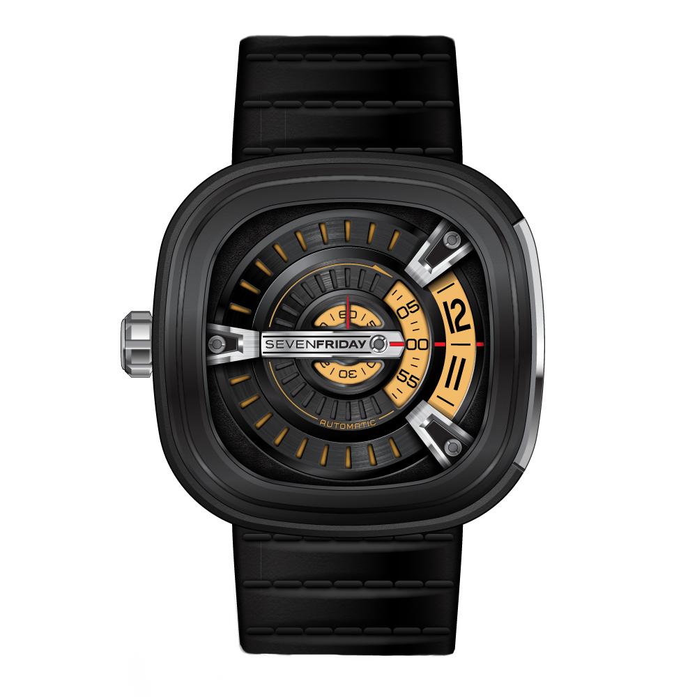 SEVENFRIDAY M2 潮流新興瑞士機械腕錶