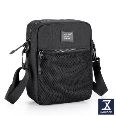 74盎司 MOBILE 網狀直立側背包[LG-899-MO-W]黑