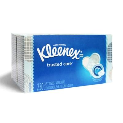 美國 Kleenex頂級柔嫩面紙 230抽/️️️️盒(花色隨機出貨)