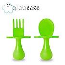 grabease 美國 嬰幼兒奶嘴匙叉組-蘋果綠