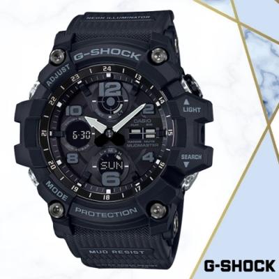 CASIO卡西歐 防泥抗塵極限大陸手錶(GSG-100-1A)/54.9mm