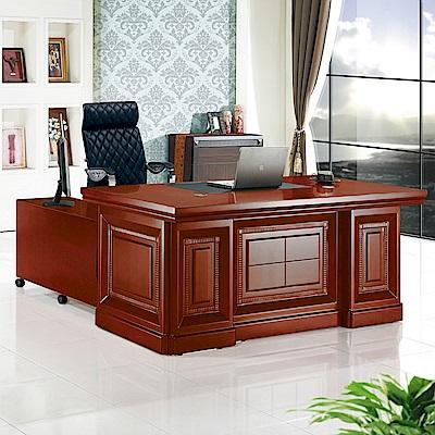 Boden-達斯5.9尺尊爵辦公桌組合(辦公桌+側櫃+活動櫃)-176x90x76cm