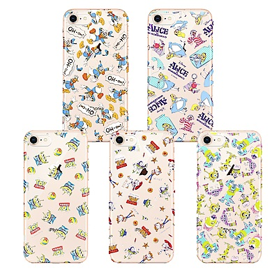 iPhone 8/7 迪士尼 PC/透明/彩繪 手機硬殼 4.7吋