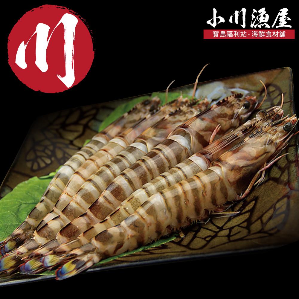 小川漁屋 野生活凍大明蝦8尾(60G±10%/尾)