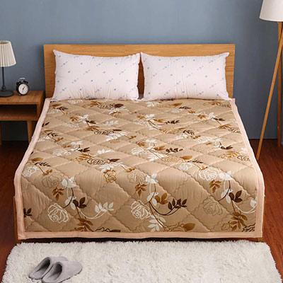 卓瑩 奈米遠紅外線100%秋冬保命毯-網路限定版-黃金花超(超值兩件組)