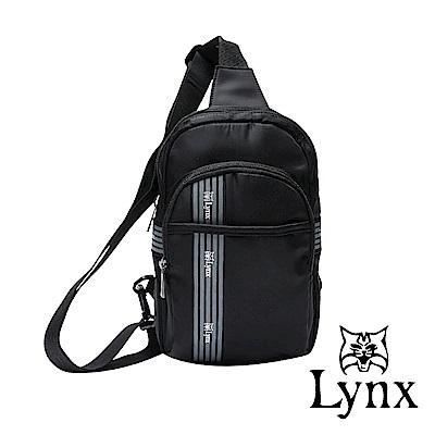 Lynx - 美國山貓潮男防撥水休閒百搭單肩側肩包