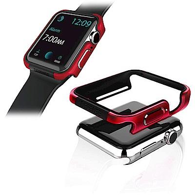 刀鋒Edge Apple Watch Series 4(44mm)鋁合金雙料保護殼 野性紅
