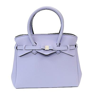 SAVE MY BAG 義大利品牌 MISS系列 紫丁香色超輕量手提托特包