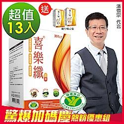 DV笛絲薇夢-潘懷宗推薦 喜樂纖膠囊13盒窈窕加碼組