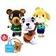 任天堂原廠授權角色娃娃- 動物森友會系列 三隻一組(送動森購物袋+束口袋) product thumbnail 2