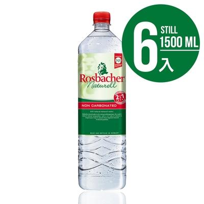 Rosbacher德國洛斯巴赫 平衡補給天然礦泉水(6入x1500ml)