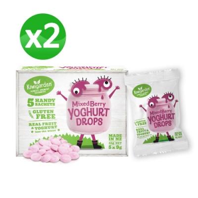 【紐西蘭 Kiwigarden】益菌優格豆 新鮮綜合莓果 x兩盒組(兒童寶寶零食)