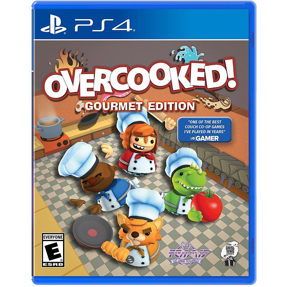 煮過頭 美食家版 OVERCOOKED GOURMET EDITION -PS4 英文美版