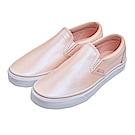 (女)VANS Classic Slip-On 炫光側邊鬆緊懶人鞋*粉膚