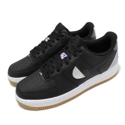 Nike 休閒鞋 Air Force 1 07 LV8 男鞋 經典款 舒適 簡約 皮革 NBA 穿搭 黑 白 CT2298001