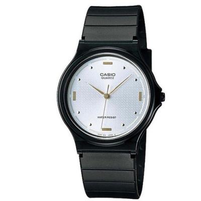 CASIO 基本款簡約男性指針腕錶-白(MQ-76-7A1)/38.8mm