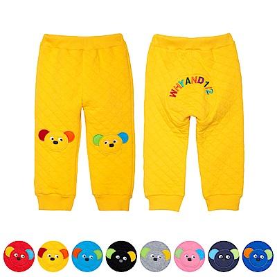 WHY AND 1/2 mini 菱格紋夾棉縮口褲 1Y~4Y 多色可選