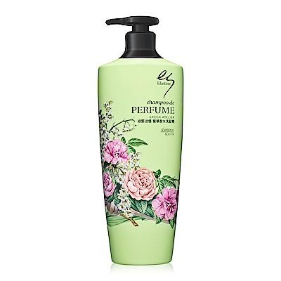 Elastine 綠野迷情奢華香水洗髮精600ml