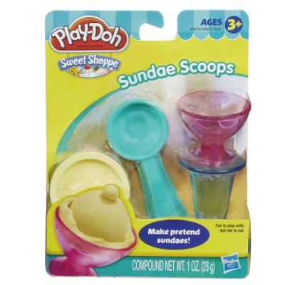 Play-Doh 培樂多-迷你甜點工具組(聖代) 無毒黏土 創意DIY