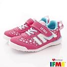 IFME健康機能鞋 輕量基本運動款 NI00901粉紅(中小童段)