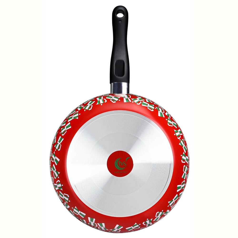 義廚寶 菲麗塔系列深平底鍋28cm-義式風情 FE02-1 (獨家搭贈專用蓋+蝶型荷木鏟)