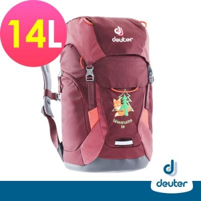【德國DEUTER】Waldfuchs 14L兒童背包/書包/旅遊包3610117深紅