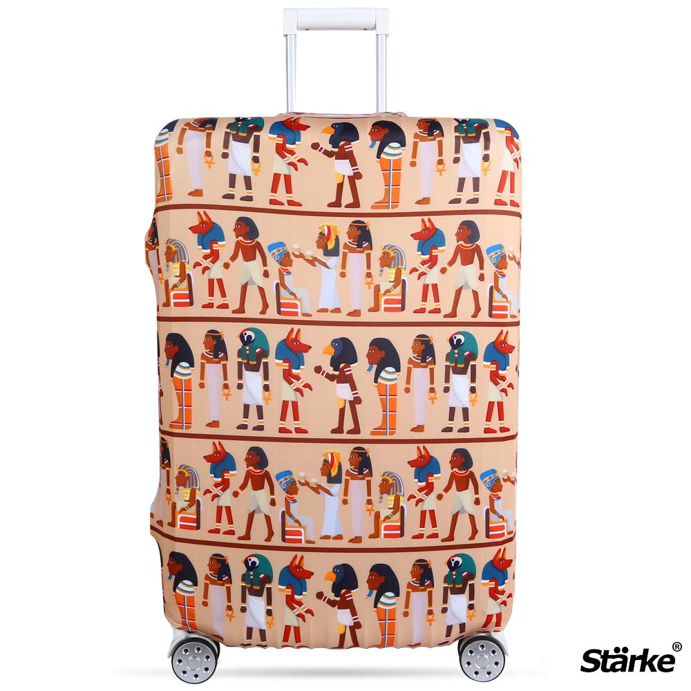 Starke 適用27-30吋高彈性行李箱套 -埃及文明