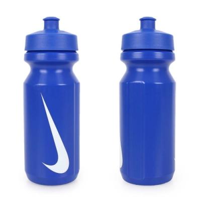 NIKE 大嘴巴水壺650ML-慢跑 路跑 自行車 單車 運動水壺 寶藍白
