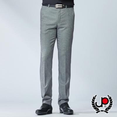 極品西服 精選設計彈力緹花平面西褲_黑白(BW752-5)