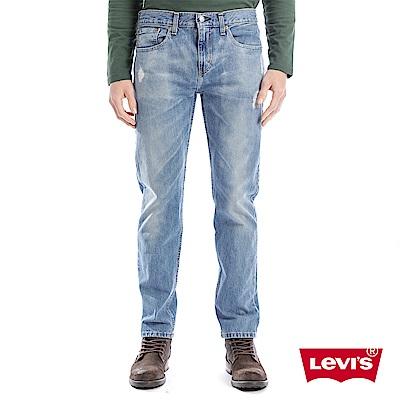Levis 男款 上寬下窄 502 Taper牛仔長褲 微破壞