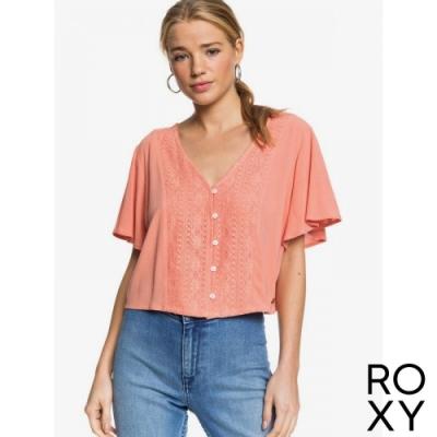 【ROXY】HANGING MOON 上衣 珊瑚紅