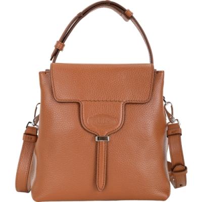 [歐洲大牌限時降 僅此一檔]TOD'S Joy Bag T釦翻蓋牛皮兩用托特包-4色可選